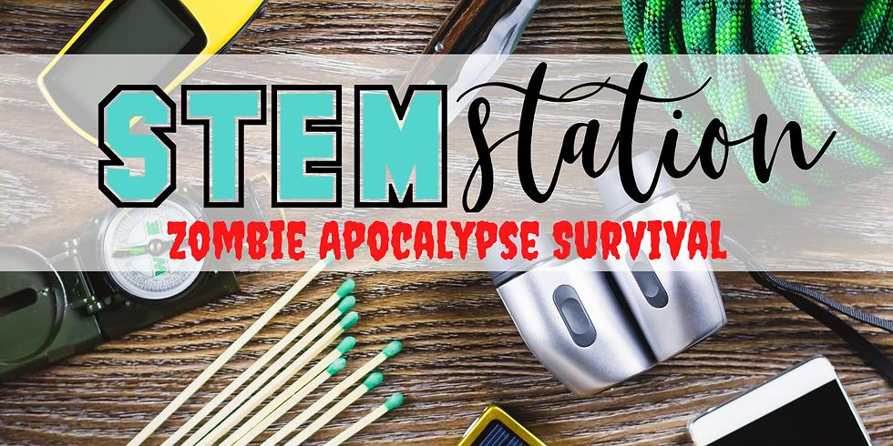 STEM Station - Zombie Apocalypse Survival: Bushcraft!
