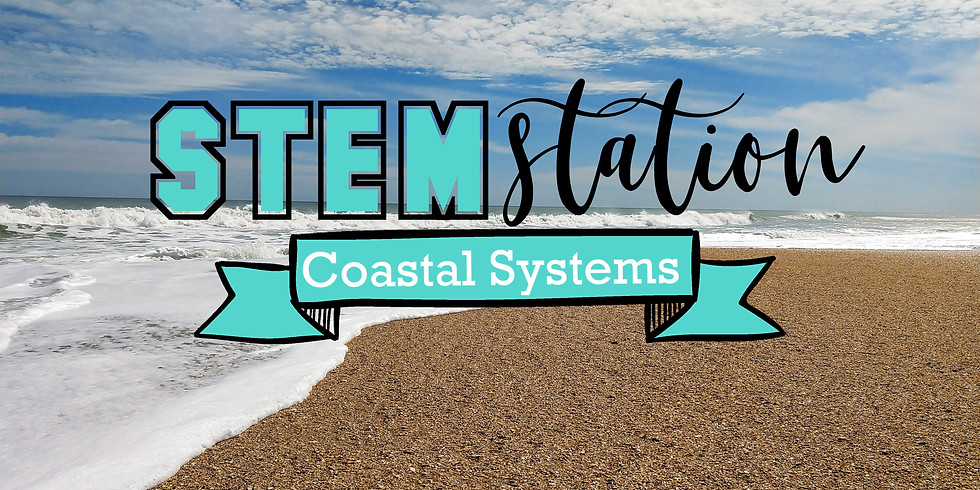 STEM Station - Coastal Systems Hike & Seine Net Activity