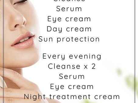 Your at home skin care