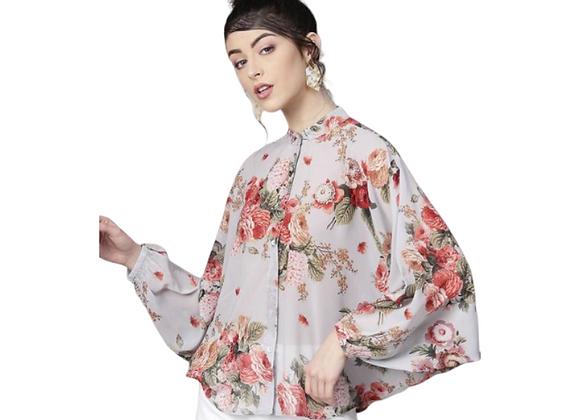 Floral Kimono Shirt