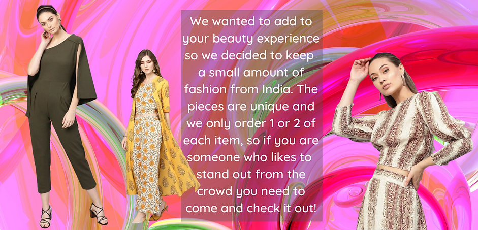 Fashion at Charishma Beauty Salon Toronto