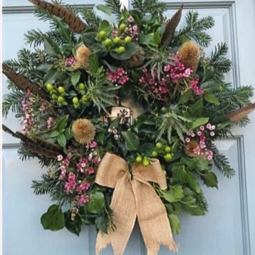 Christmas Wreath Workshop 🤶FULLY BOOKED 🤶