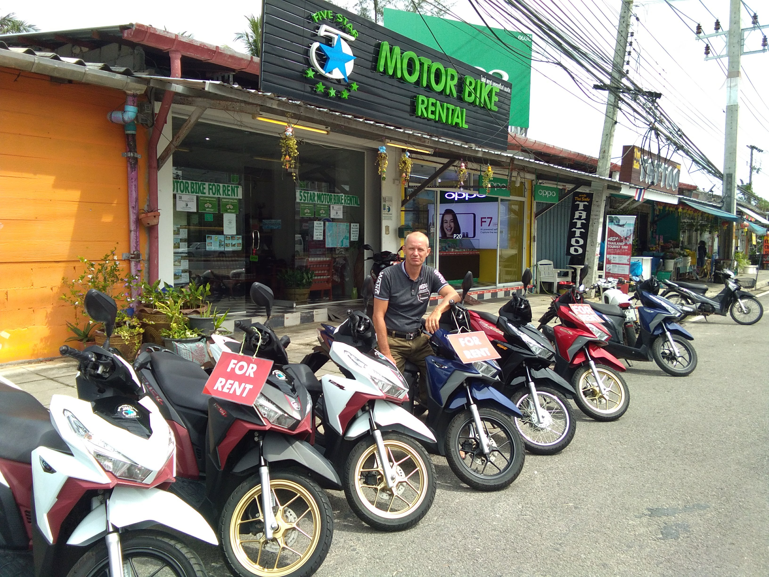 Khao Lak 5 Star Motor Bike Rental