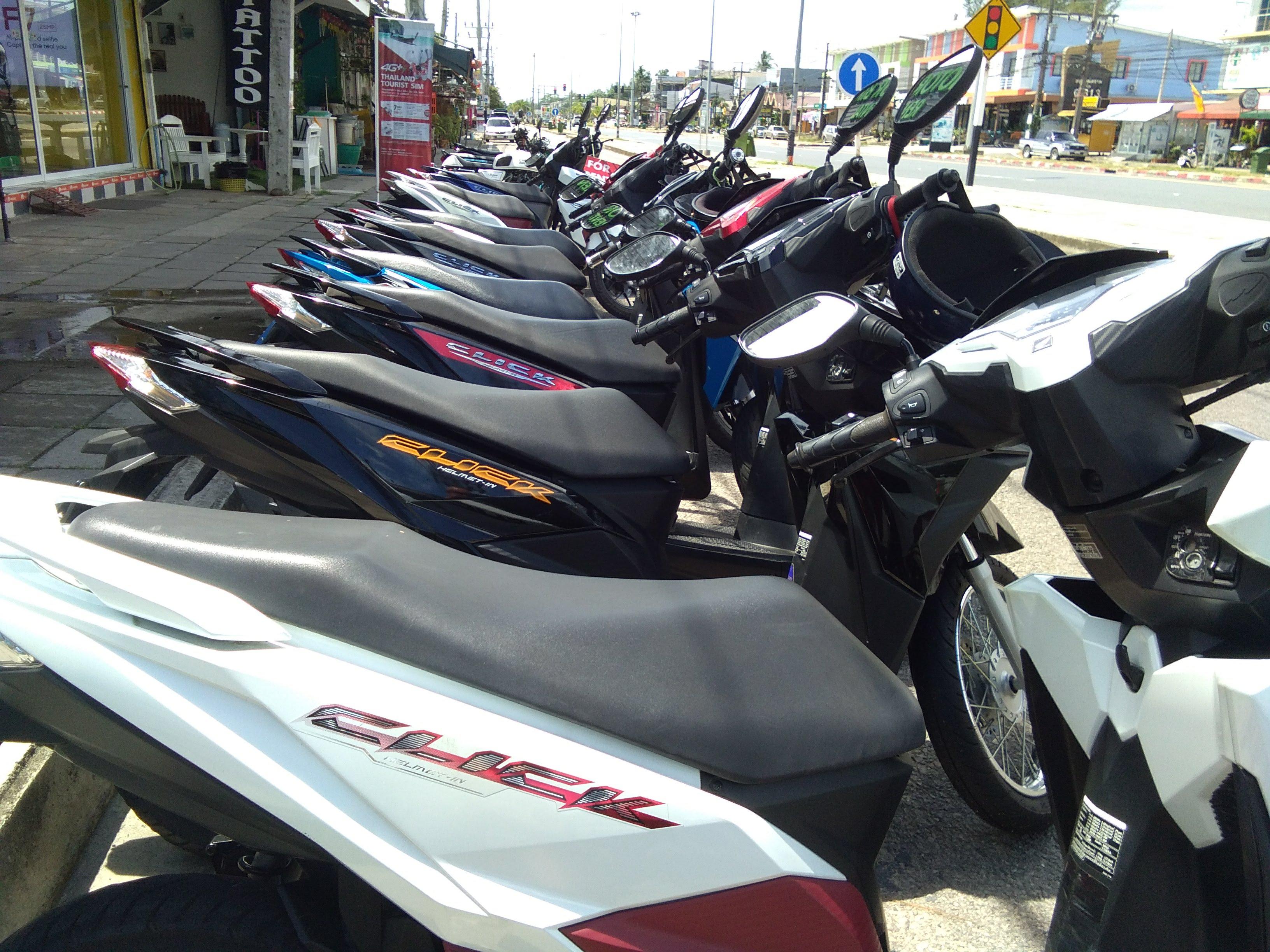 5 Star Motor Roller Verleih Khao Lak