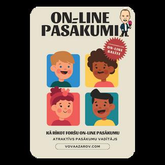 On-Line pasākumu organizēšana un to formāts