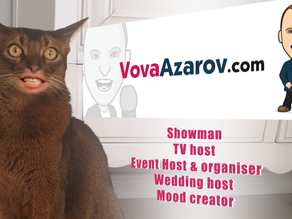 Wedding host Vova Azarov