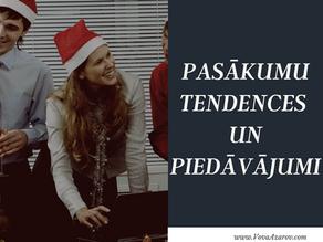 Ziemassvētku un Jaunā gada korporatīvo pasākumu tendences un piedāvājumi