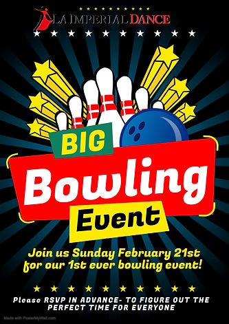 Copy of BOWLING POSTER - Made with Poste