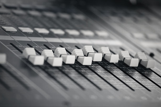 close-up-photo-of-black-and-white-sound-