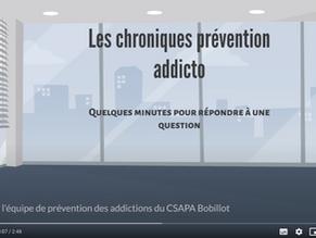 VIDEO CHRONIQUE DE L'EQUIPE DE PREVENTION DU CH ESQUIROL