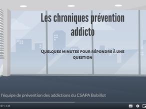 1ère chronique de l'équipe de prévention du CH Esquirol - vidéos youtube