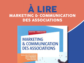 [ À LIRE ] MARKETING & COMMUNICATION DES ORGANISATIONS 📖