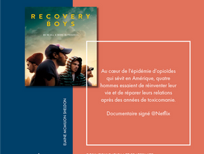 À VOIR |DOCUMENTAIRE              « RECOVERY BOYS »