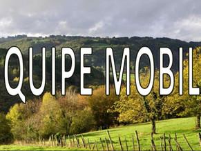 NOUVEAU : CREATION D'UNE EQUIPE MOBILE - ANPAA DE BRIVE