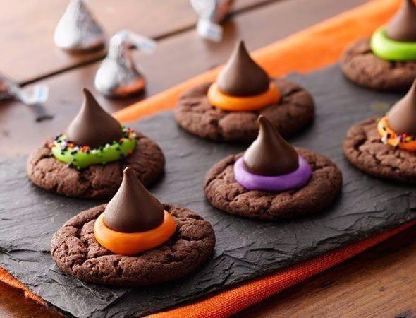 Witch Hat Cookies - BettyCrocker.com