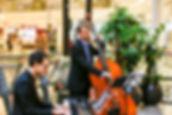 Jazzband aus dem Raum Karlsruhe, Duo Noble Jazz, Milaneo Stuttgart