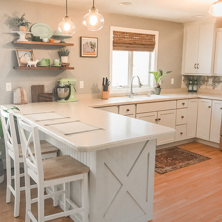 How I Completely Transformed My Kitchen on a $600 Budget