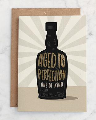 Minted Top Shelf Birthday Card