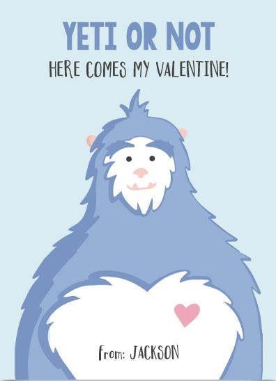 Yeti Valentine