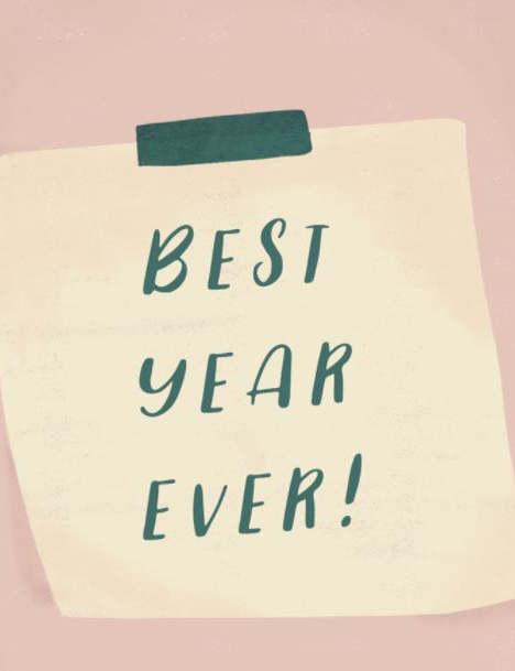 New Year Reminder