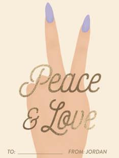 Peace & Love Valentine