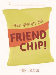 Friend Chip Classroom Valentine