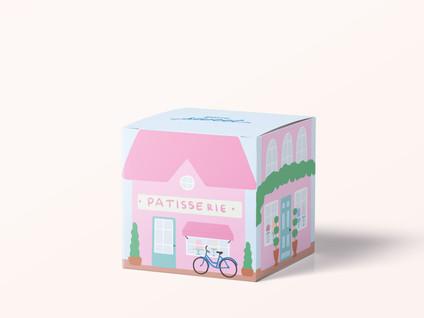 PRINTABLE PARIS CAFE GIFT BOX - FREE DOWNLOAD!