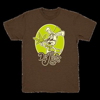 Dr. J. Terps   T-Shirt - Brown