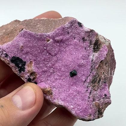 Druzy Cobalto Calcite from Congo - A grade