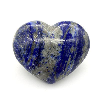Lapis Lazuli Heart Medium (A Grade - 7cm approx)