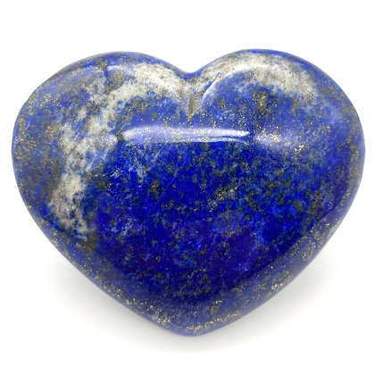 Lapis Lazuli Heart Large (A Grade - 9.5cm approx)