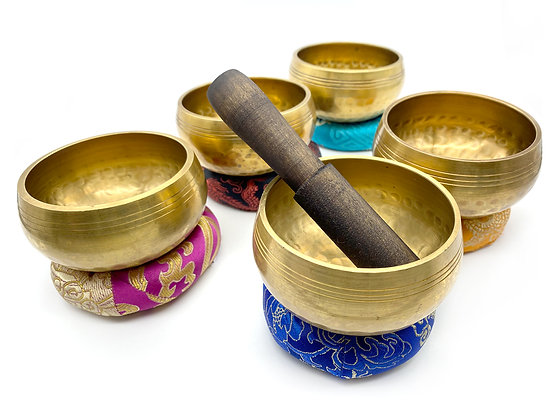 Small Handmade Tibetan Singing Bowls