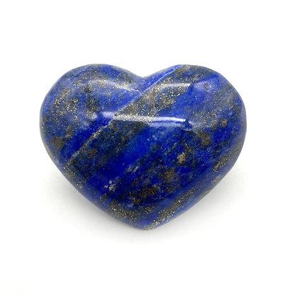 Lapis Lazuli Heart Small  (A Grade - 5.5cm approx)