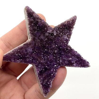 Duzy Amethyst Star (A Grade - 8cm approx)
