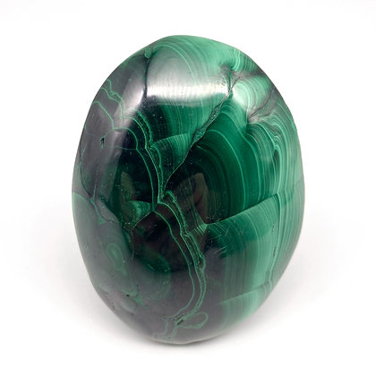 Malachite Palm Stone - A Grade