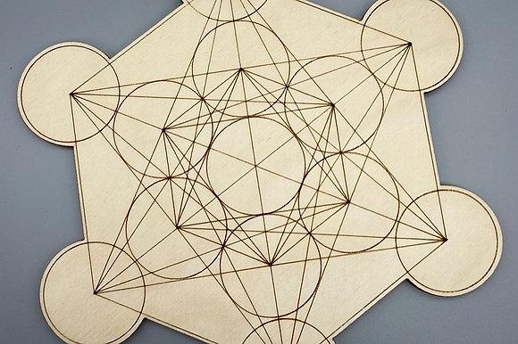 Crystal Grid (Wood - 17 cm)
