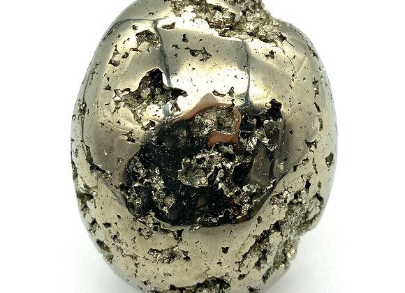 Pyrite Palm Stone Very Lustrous (A Grade)