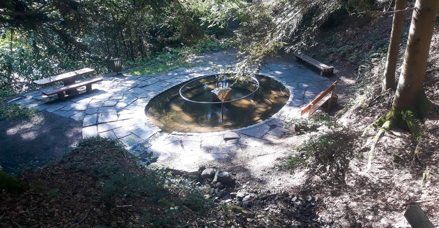 Übersicht Wassertretanlage