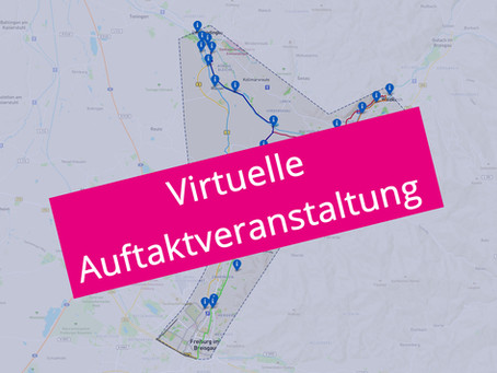 Virtuelle Auftaktveranstaltung am 14.12.2020