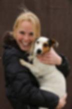 Dierenfysiotherapeute en bewegingswetenschapper Aline Hoving van P.E.T. Animal Physiotherapy