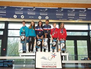 Triathlon péi: La jeunesse en ler