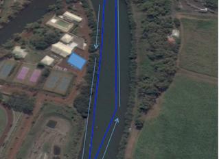 Parcours du Triathlon du Phar'Est