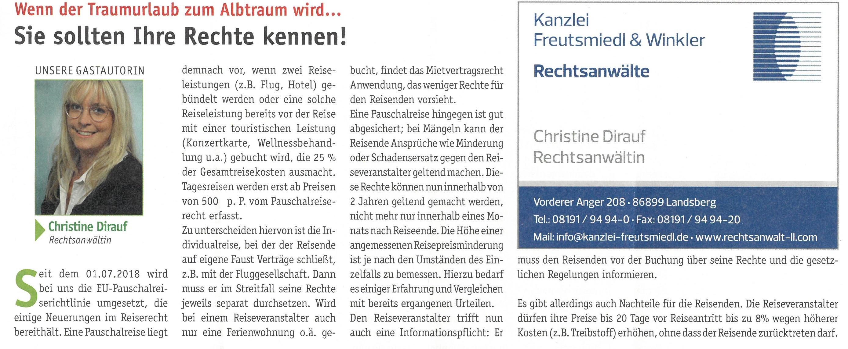 Landsberger Monatszeitung, 10/2018
