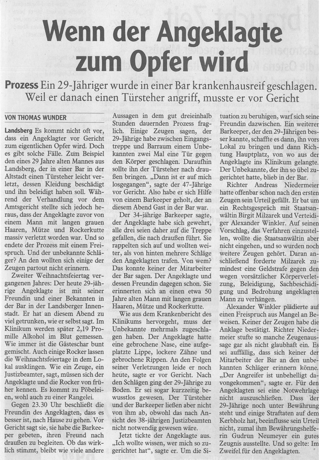 Landsberger Tagblatt, August 2016