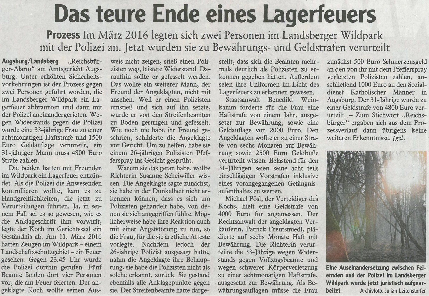 Landsberger Tagblatt, August 2017