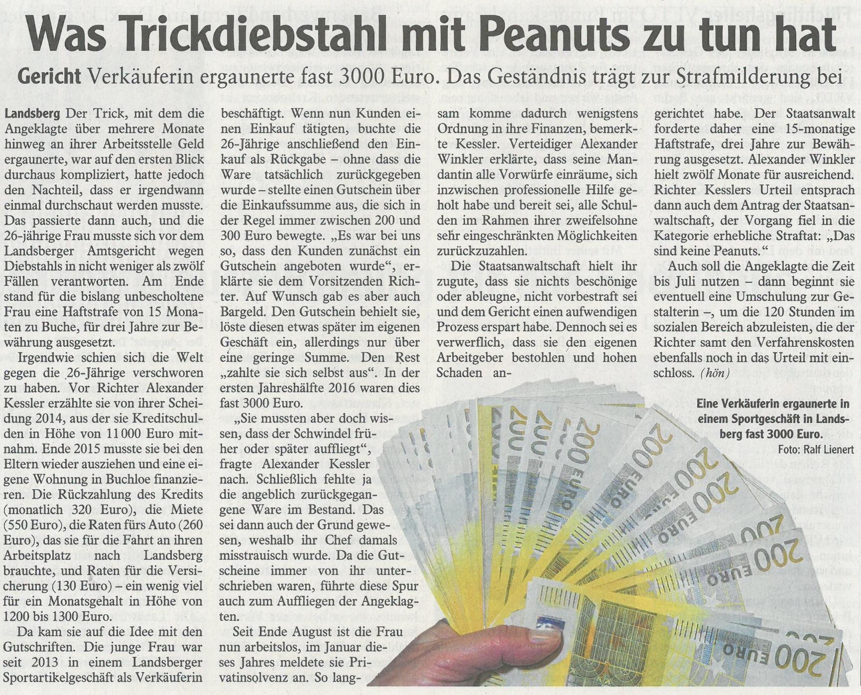 Landsberger Tagblatt, März 2017