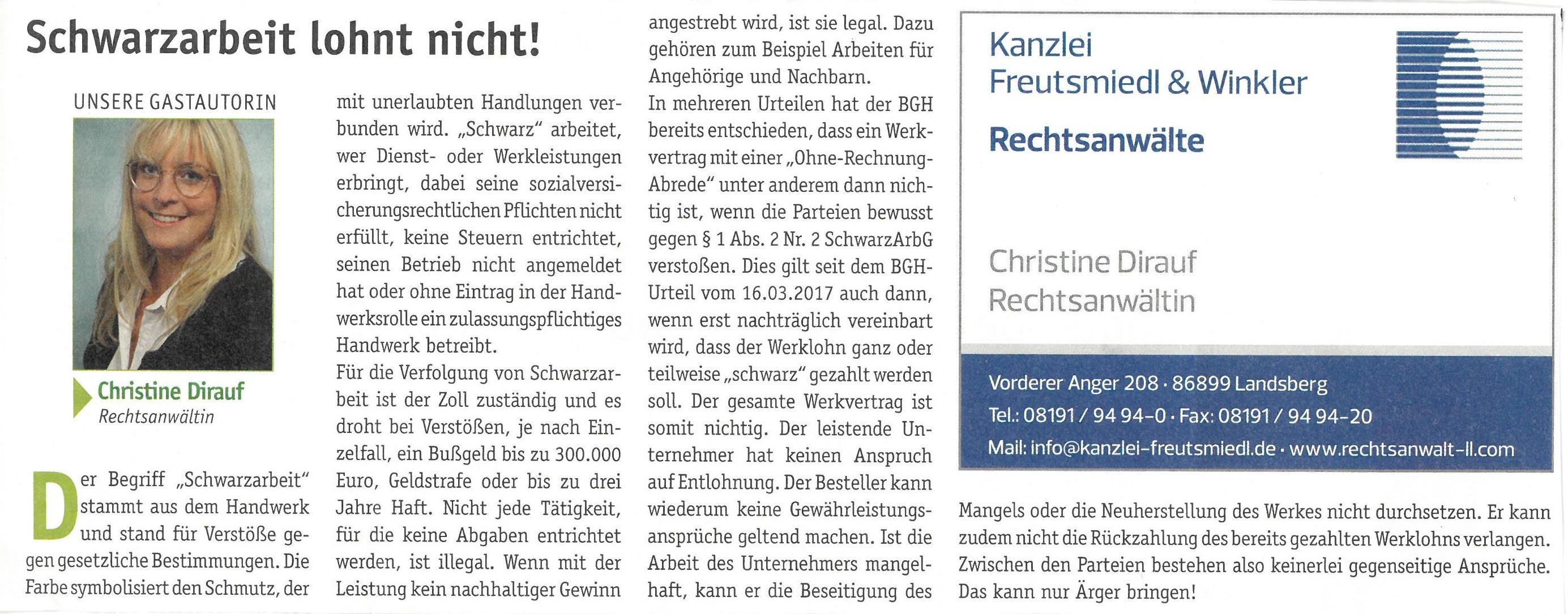 Landsberger Monatszeitung, 08/2018