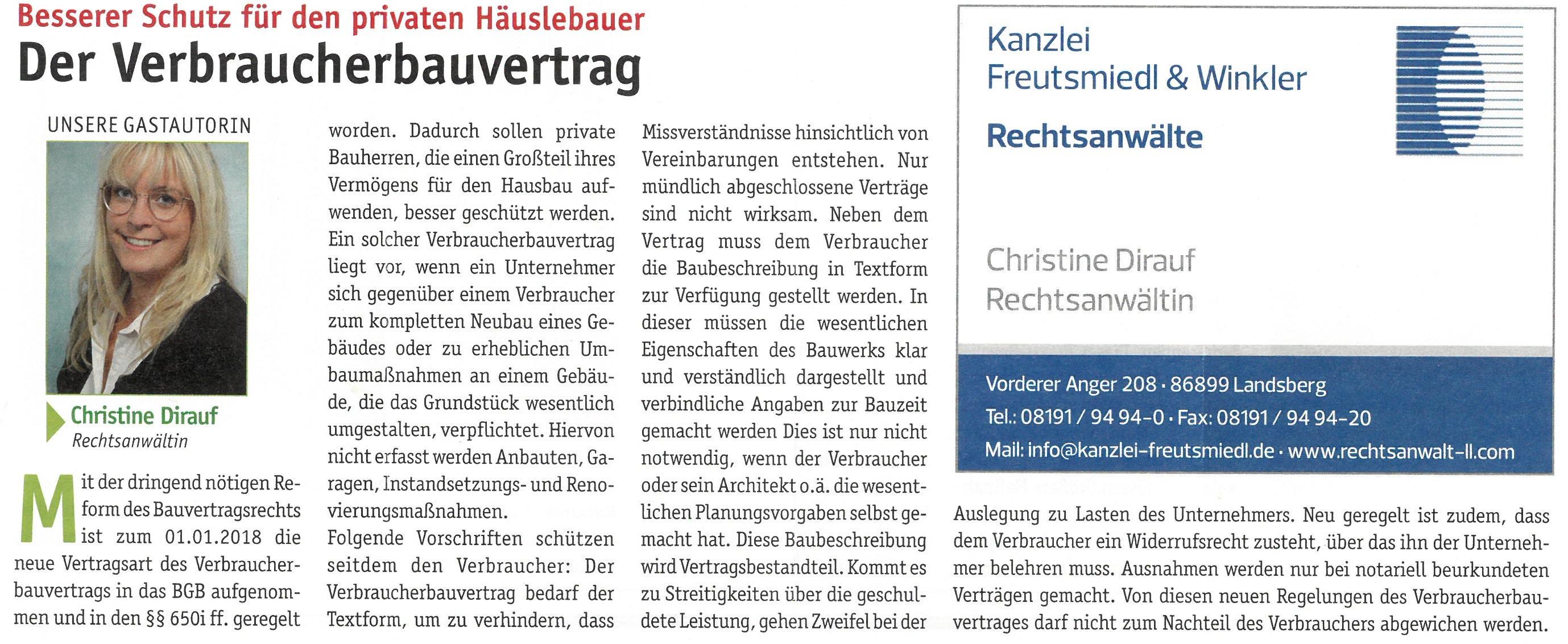 Landsberger Monatszeitung, 06/2018
