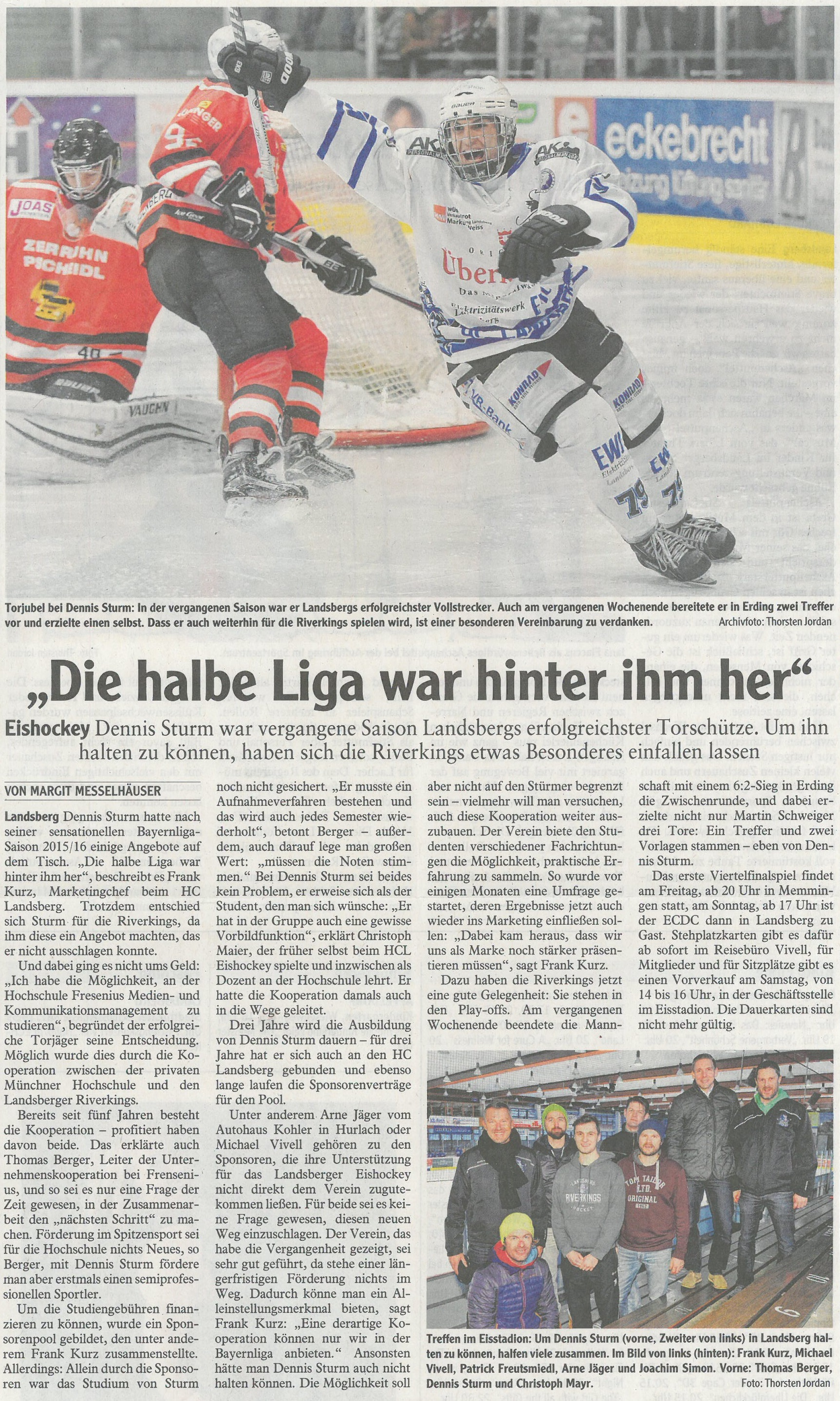 Landsberger Tagblatt, Februar 2017
