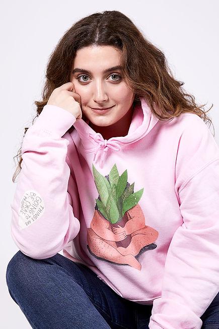 plant lady hoodie